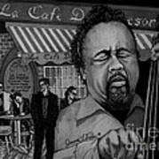 Jazz Charles Mingus Jr Art Print