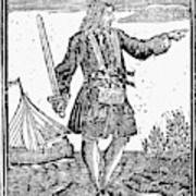 Charles Vane (c1680-1720) Art Print