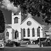 Charles W Drees Methodist Church Art Print