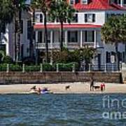 Charleston Beach Art Print