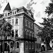Charleston Corner Charleston Sc Art Print by William Dey