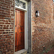Charleston Door Art Print