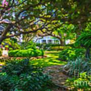 Charleston Sc Gardens Art Print