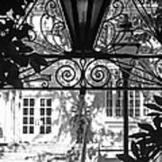 Charleston Gateway II In Black And White Art Print