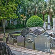 Charleston Graveyard Art Print