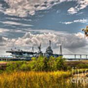 Charleston Marsh View Art Print