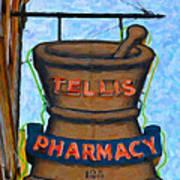 Charleston Pharmacy Art Print