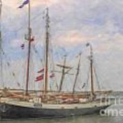 Charleston Ships Art Print
