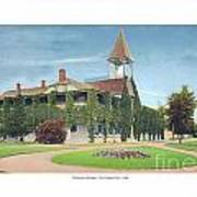 Charlevoix Michigan - The Chicago Club - 1908 Art Print