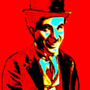 Charlie Chaplin 20130212 Art Print by Wingsdomain Art and Photography