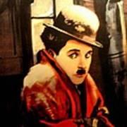 Charlie Chaplin Art Print by Jay Milo