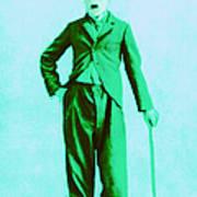 Charlie Chaplin The Tramp 20130216m150 Art Print