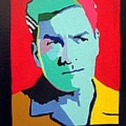 Charlie Sheen Winning Art Print