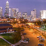 Charlotte Blue Hour  Print by Abe Pacana