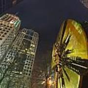 Charlotte Downtown At Night Art Print