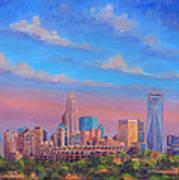 Charlotte Skies Art Print by Jeff Pittman