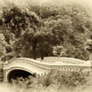 Charm Of Bow Bridge Art Print