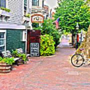 Charming Nantucket Art Print