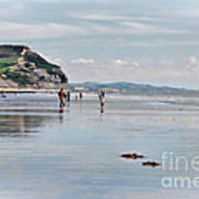 Charmouth Beach 2 Art Print