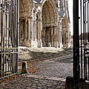 Chartres Cathedral North Transept Art Print