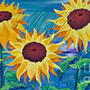 Chasing The Sun Art Print