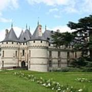 Chateau Chaumont From The Garden  Art Print