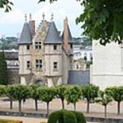 Chateau D'angers - Chatelet View Art Print