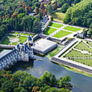 Chateau De Chenonceau And Its Gardens Art Print