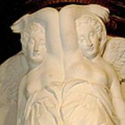 Chateau De Chenonceau Angels Art Print