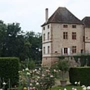 Chateau De Cormatin - Burgundy Art Print