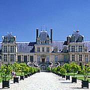 Chateau De Fontainebleau Ile De France Art Print