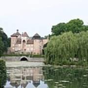 Chateau De Sercy - Burgundy Art Print