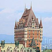 Chateau Frontenac Quebec City Canada Art Print