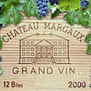 Chateau Margaux Art Print