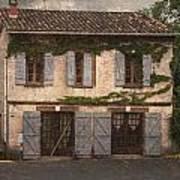Chateau No 1 Rue Moulins France Art Print