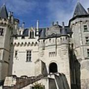 Chateau Saumur  Art Print