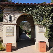 Chateau St. Jean Winery 5d22197 Art Print by Wingsdomain Art and Photography
