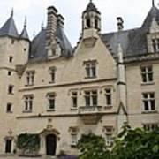 Chateau Usse Art Print