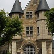 Chatelet - Chateau D'angers  Art Print