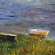 Chatham Rowboats Art Print