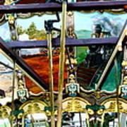 Chattanooga Carousel Art Print