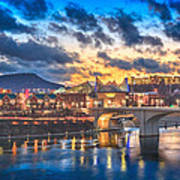 Chattanooga Evening After The Storm Art Print