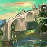 Chattanooga Art Print