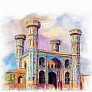 Chauburji Lahore Art Print