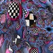 Checker Art Print