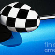 Checkered Finish Art Print
