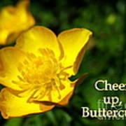 Cheer Up Buttercup Art Print
