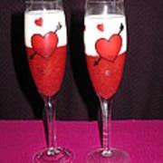 Cheers My Love 01 Art Print