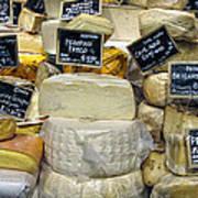 Cheese Art Print