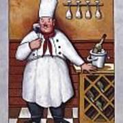 Chef 2 Print by John Zaccheo